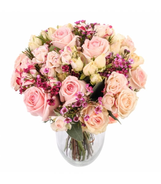 Kobarroosidega roosikimp
