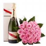 Roosikimp šampanjaga