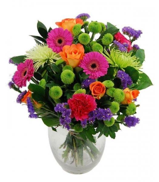 Värviline lillekimp