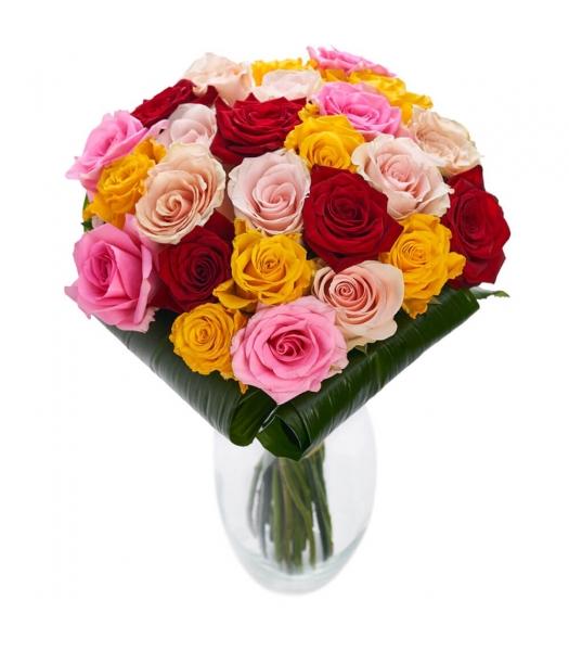 suur värviline roosikimp